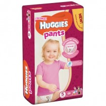Huggies Pants-chilotei de unica folosinta nr.5 Girls