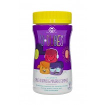 U-Cubes CHILDREN'S Multi-Vitamin & Mineral gummies 60 Solgar