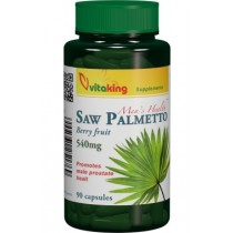 Extract de Palmier Pitic (Saw Palmetto) 540mg – 90 cps. Vitaking