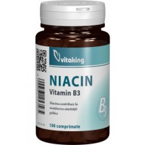 Vitamina B3 (Niacina) 100 Mg x 100 Cpr