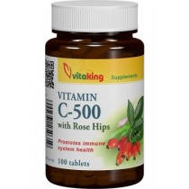 Vitamina C 500 Mg Cu Macese x 100 Cpr