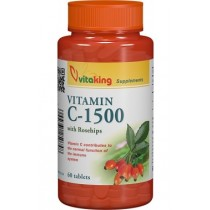 Vitamina C 1500 Mg Cu Macese  x 60 Cpr