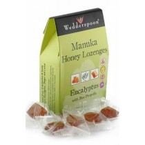 Bomboane Cu Manuka, Eucalipt si Propolis 120gr Wedderspoon