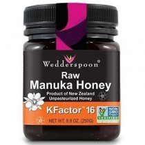 Miere De Manuka Kfactor 16 250gr Raw Wedderspoon