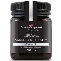 Miere De Manuka Kfactor 22+ 250gr Raw Wedderspoon