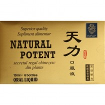 Natural Potent 6 x 10ml 2Buc + Joints Forte F. Alcool Gratis