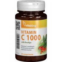 Vitamina C 1000 Mg Cu Macese  x 30 Cpr
