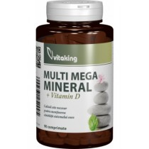 Complex Multimineral Cu Vitamina D x 90 Cpr