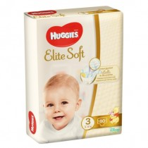 Huggies Elite Soft 3 (80) 5-9Kg