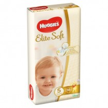 Huggies Elite Soft 5 (56) 12-22 Kg