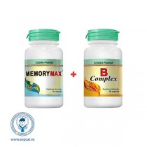 mory Max 30Cps 4+1Buc+Ulei 30Cps Gratis Cosmo Pharm
