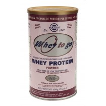 Whey To Go Protein Strawberry powder 454gr Solgar