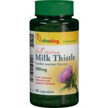 Armurariu (Milk Thistle) 500mg – 90 cps. Vitaking