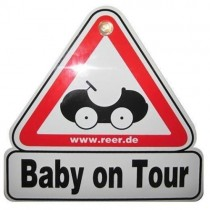 Semn de masina Baby on Tour