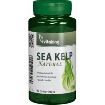 Sea Kelp (algă marină) – 90 cpr. Vitaking