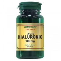 Acid Hialuronic 100Mg 30Cpr Cosmo Pharm