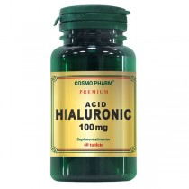 Acid Hialuronic 100Mg 60Cpr Cosmo Pharm
