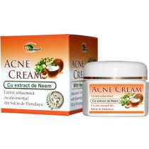 Crema Antiacneica Cu Extract Neem 50Ml Ayurmed