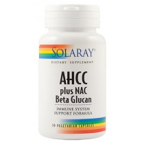 Ahcc Plus Nac & Beta Glucan 30Cps Solaray