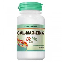 Cal-Mag-Zinc 30Cpr Cosmo Pharm