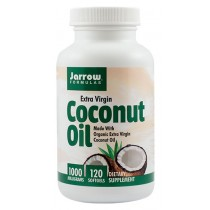 COCONUT OIL EXTRA VIRGIN 1000mg 120cps JARROW FORMULAS