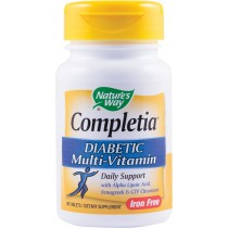 COMPLETIA DIABETIC MULTI-VITAMIN (FARA FIER) 30tb NATURE'S WAY