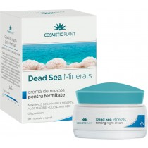 Crema De Noapte Fermitate Dead Sea 50Ml Cosmetic Plant
