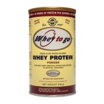 Whey To Go Protein Vannila powder 340gr Solgar