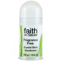 Deodorant natural Cristal De Sare - Fara Aluminiu 100gr.  Faith in Nature