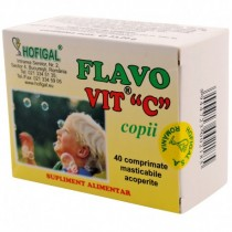 Flavo Vitamina C Copii 40Cpr HOFIGAL