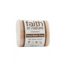Săpun natural Cu Cocos Din Ingrediente Naturale 100gr Faith in Nature