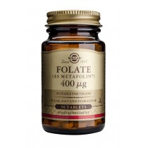Folate (as metafolin) 400mcg x 50 tab. Solgar