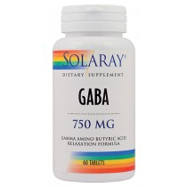 GABA 750mg 60tb SOLARAY