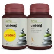 GINSENG 30CPR + 30CPR PACHET ALEVIA