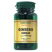 Ginseng Corean 1000Mg 30Cpr Cosmo Pharm