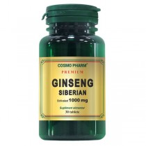 Ginseng Siberian 1000Mg 30Cpr Cosmo Pharm