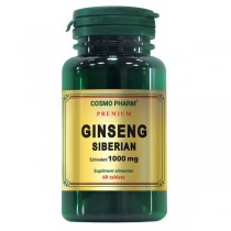 Ginseng Siberian 1000Mg 60Cpr Cosmo Pharm