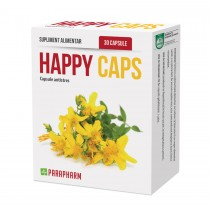 HAPPY CAPS, 30 cps  1 + 1 Gratis Parapharm
