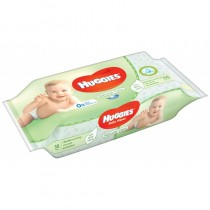 Huggies Aloe - Servetele Umede Copii 56