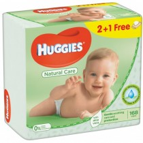 Huggies Aloe Trio 56X3