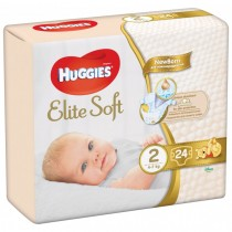 Huggies Elite Soft 2 (24) - (4-7Kg)