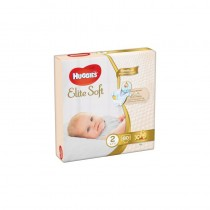 Huggies - Elite Soft - New Born 2 - 4-7 Kg - 80