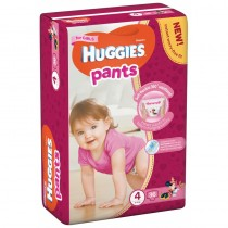 Huggies Pants-chilotei de unica folosinta nr.4 Girls