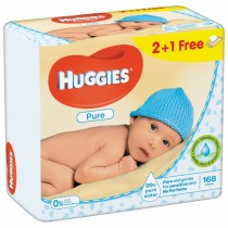Huggies Pure Trio 56X3