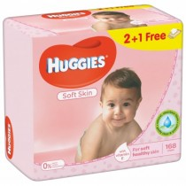 Huggies Soft Trio 56X3