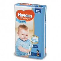 Huggies Ultra Confort Boy 4 (66) 8-14Kg