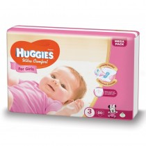 Huggies Ultra Confort Girl 3 (80) 5-9Kg