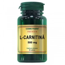L-Carnitina 500Mg 30Cpr Cosmo Pharm