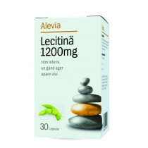 Lecitina 1200Mg 30cps Alevia