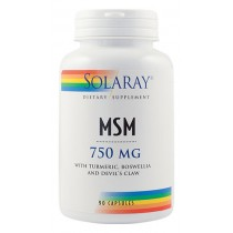Msm 750Mg 90Cps Solaray